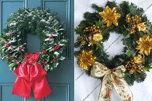 Thổi không khí Giáng sinh vào nhà bằng chiêu trang trí cực đơn giản
