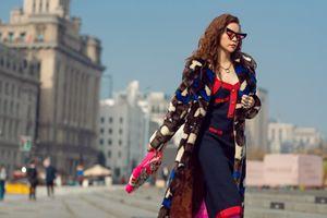 Dấn ấn thời trang hiệu Gucci của Hồ Ngọc Hà tại Bến Thượng Hải