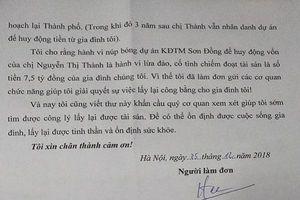 Nghi vấn lừa 'bán đất trên giấy' tại Dự án KĐT Sơn Đồng?