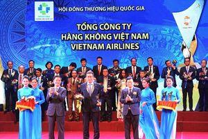 Vietnam Airlines được vinh danh Thương hiệu Quốc gia năm 2018