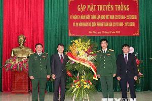 Thông tấn xã Việt Nam và Sư đoàn 304 gặp mặt truyền thống