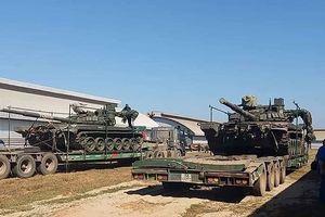Xe tăng 'Đại bàng trắng' của Nga đang trên đường đến Lào