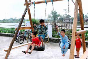 Sân chơi tái chế sáng tạo đầu tiên dành cho trẻ em tại Đông Anh - Hà Nội