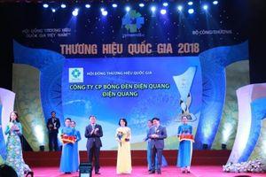 Điện Quang – Doanh nghiệp duy nhất trong ngành chiếu sáng đạt Thương hiệu Quốc gia 6 lần liên tiếp