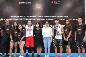 Samsung Vina tài trợ 5 năm cho Giải Bóng rổ RBL