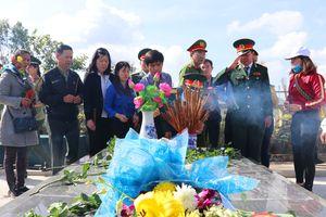 Gia Lai: Tổ chức Lễ truy điệu, an táng 45 hài cốt liệt sĩ