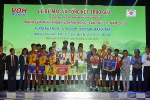Kết thúc cuộc đua xe đạp Nam Kỳ Khởi Nghĩa: Tập đoàn Lộc Trời An Giang nhất đồng đội