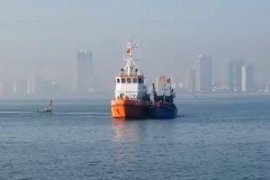 Đà Nẵng: Cứu nạn 08 thuyền viên trên vùng biển Thừa Thiên Huế