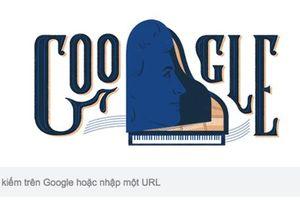 Hình trên Google hôm nay: 'Nữ thần piano' Teresa Carrenõ