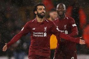 Thắng Wolverhampton 2-0, Liverpool vững vàng ngôi đầu bảng