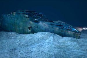 Khám phá con tàu Titanic dưới đáy đại dương