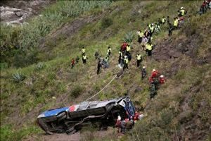 Xe buýt lao vực ở Nepal: 21 người thiệt mạng, hàng chục người bị thương