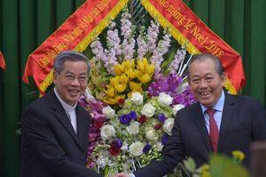 Phó Thủ tướng Trương Hòa Bình chúc mừng Giáng sinh tại Phát Diệm