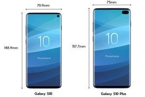 Lộ diện điểm chuẩn Samsung Galaxy S10 Lite và S10 Plus