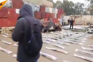 An ninh quân sự Syria lại phát hiện kho vũ khí lớn của 'quân nổi dậy' ở Daraa