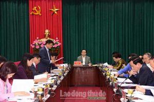 Thành ủy Hà Nội kiểm điểm tập thể, cá nhân trong công tác lãnh đạo năm 2018