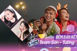 CLIP: Ngọc Ánh - Hoài Ngọc 'Ước lại là thí sinh Giọng hát Việt nhí để về cùng team Soobin - Vũ Cát Tường'