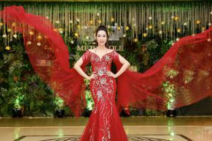 Á hậu Trịnh Kim Chi vắt kiệt sức cho nghệ thuật mùa Tết