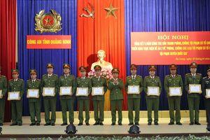 Công an Quảng Ninh nhận được nhiều thư khen vì hết lòng phục vụ nhân dân