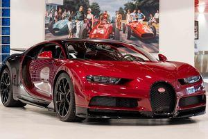 Ngắm Bugatti Chiron Classy Red được chào bán với giá 3,27 triệu USD