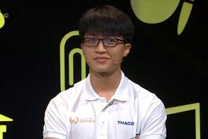 Nam sinh Hà Nội dẫn đầu cuộc thi với 80 điểm Khởi động