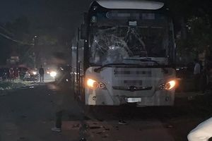 Đối đầu với xe ôtô chở công nhân, 2 người lái môtô tử vong ở Bắc Giang