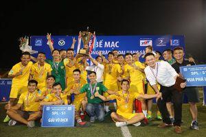 Văn Minh miền Nam vô địch Ngoại hạng 'phủi' Sài Gòn lần thứ nhất