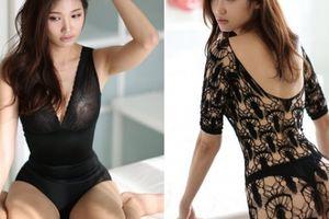 Ảnh quảng cáo thời trang cực nóng của chân dài Hàn Quốc