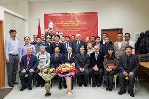 Kỷ niệm Ngày thành lập Quân đội nhân dân Việt Nam tại Ekaterinburg, LB Nga