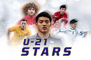 Đoàn Vặn Hậu lọt top 5 cầu thủ trẻ hay nhất châu Á hiện nay