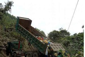 Lạng Sơn: Nạn đổ trộm rác thải công nghiệp 'hoành hành' ở Hữu Lũng