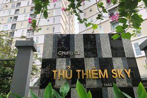 Điều tra nguyên nhân bé gái rơi tầng 14 Chung cư Thủ Thiêm Sky