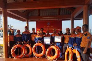Đà Nẵng: Cứu nạn nhiều thuyền viên bị sự cố tàu vào bờ an toàn.