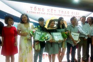 Cuộc thi 'Văn học tuổi 20' lần 6 không có giải nhất
