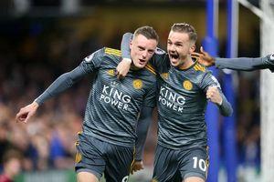 Vardy tỏa sáng, Leicester City kéo sập pháo đài Stamford Bridge