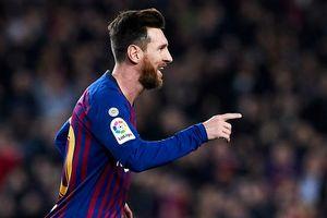 Lionel Messi 'nổ súng', Barca thắng dễ Celta Vigo