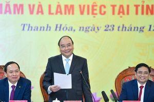 Thủ tướng: Thanh Hóa cần có tầm nhìn 'tứ sơn'