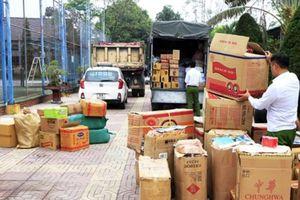 Bắt giữ nhiều vụ vận chuyển thực phẩm không an toàn