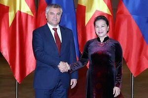Việt Nam - Nga: Thúc đẩy quan hệ liên nghị viện để hai nước gần nhau hơn