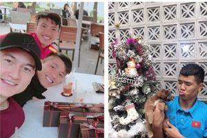 Tiết lộ hoạt động đặc biệt của dàn cầu thủ Việt Nam đón Giáng sinh