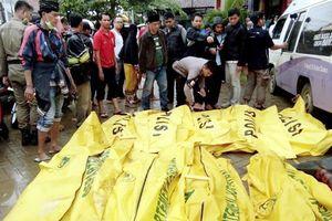 Sóng thần tấn công Indonesia, ít nhất 222 người thiệt mạng