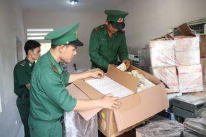 Hai ngày đêm bắt 2 vụ buôn lậu lớn tại biên giới An Giang