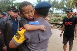Số người chết vì sóng thần Indonesia vượt 281, hơn 1.000 người bị thương