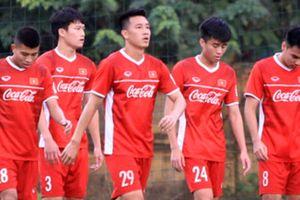 Đội tuyển Việt Nam tích cực chuẩn bị cho trận gặp Triều Tiên