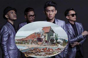 Thành viên ban nhạc bị sóng thần Indonesia cuốn phăng mong vợ còn sống