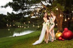 Bikini hoa rực rỡ trên lịch Vietjet