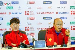 Mục tiêu của HLV Park Hang-seo trong trận gặp ĐTQG Triều Tiên