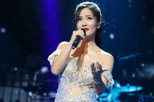 Hậu ly hôn chồng Tây, Hồng Nhung quyến rũ, gợi cảm hết nấc trên sân khấu thủ đô
