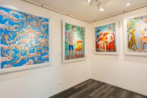 Họa sỹ nào tham dự Hội chợ nghệ thuật tổ chức tại London?