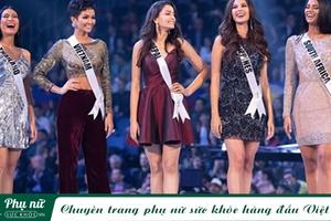 Cùng kiểu quần nhung, H'Hen Niê 'đột phá' tại Miss Universe, Vũ Cát Tường, Chi Pu 'mất điểm' vì sến sẩm